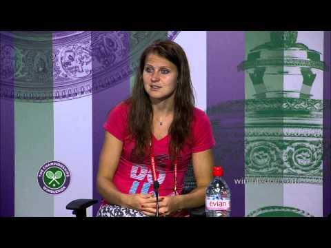 Wimbledon: Lucie Safarova Semi-Final Press Conference
