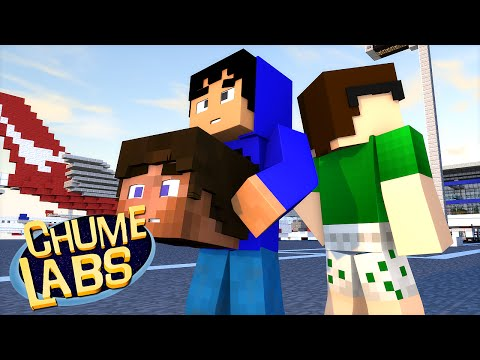 Minecraft: CONFUSÃO NO AEROPORTO! (Chume Labs 2 #27) (видео)