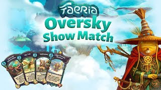 Check out some of new Oversky cards in action! Get involved with the Faeria community! https://www.faeria.com/the-hub Join our...