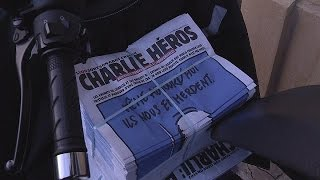 """Charlie Hebdo'ya Lyon'dan """"kahramanlar"""" desteği - le mag"""