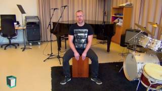 The basic sounds of the cajon