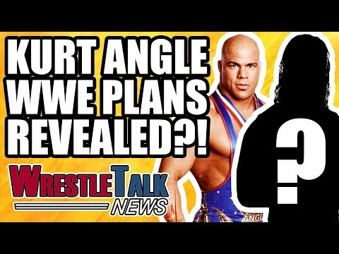 Kurt Angle WWE WrestleMania 34 Match REVEALED?!   WrestleTalk News Feb. 2018