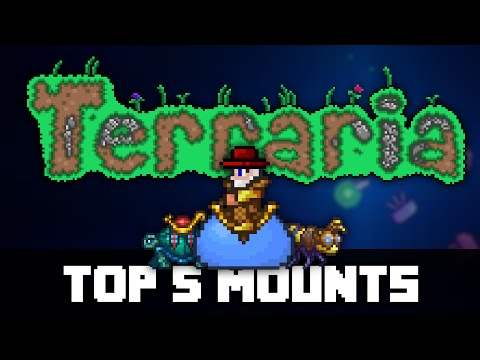 Top 5 Mounts in Terraria! PRE 1.3 (видео)