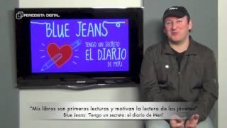 Blue Jeans, autor de 'Tengo un secreto: el diario de Meri'. 15-12-2014
