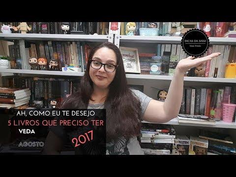 VEDA #30 - 5 Livros que Ando Desejando | Dicas da Sissi