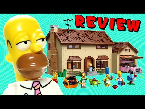 LEGO Simpsons House 71006 Review