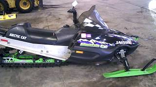 5. Parting out a 2001 Arctic Cat Mountain Cat 800 w/ 144 Track LOT 3438A Martos Motorsports
