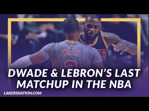 Video: Lakers News: The Last Matchup Between LeBron James & Dwyane Wade