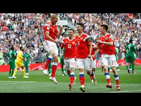 Russland gewinnt Auftakt der Fußball-WM gegen Saudi-A ...