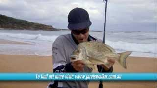 Beach fishing with bait-and landing a 42cm bream! [VIDEO]