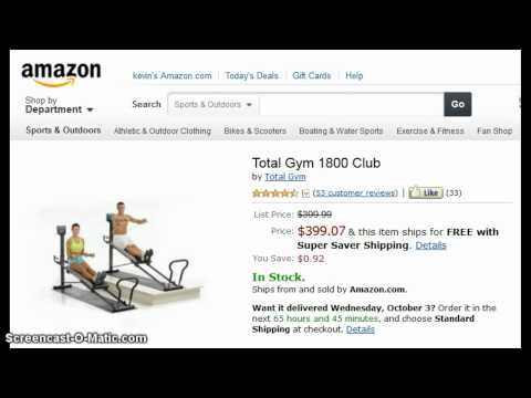 TOTAL GYM 1800 Club | Lowest Cost – Weider Gym?