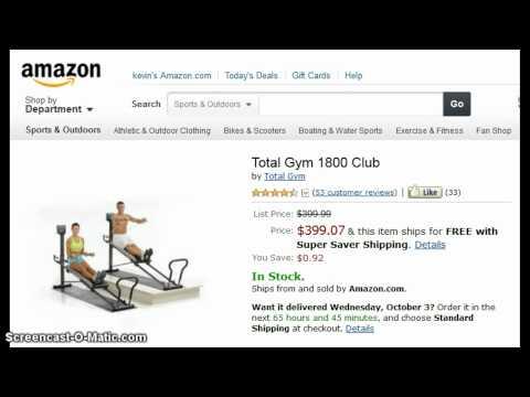 TOTAL GYM 1800 Club | Lowest Cost – Weider Gym?