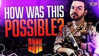 HOW WAS THIS POSSIBLE?! MOST INSANE BLACKOUT GAME EVER! (Call of Duty: Blackout)