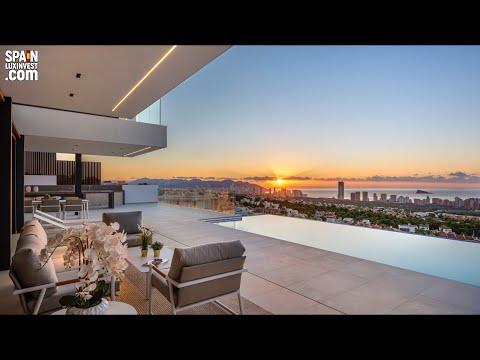 2250000€+/Элитная недвижимость в Испании/Виллы в видом на море в Бенидорме/Дома Премиум класс/Люкс