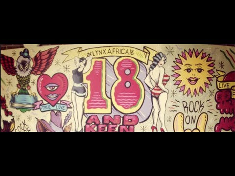 Graffiti artists create Twitter wall for Lynx Africa's 18th birthday video