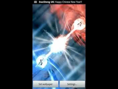 Video of Energy Blast Live Wallpaper
