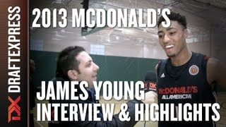 James Young - 2013 McDonald's All-American Game - Interview