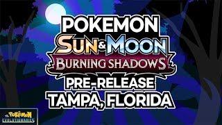 DOUBLE Pokemon Burning Shadows Prerelease! | Tampa, Florida by The Pokémon Evolutionaries