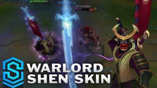 Chi tiết trang phục làm mới Shenmurai (Warlord Shen)