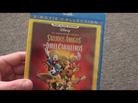 Disney's Saludos Amigos And The Three Caballeros Blu-Ray Unboxing