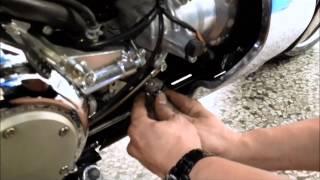 2. M109R Hydraulic clutch install step by step
