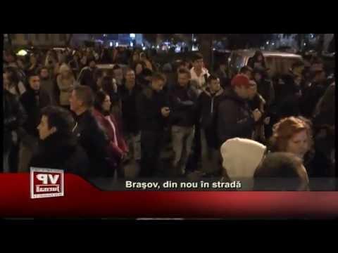 Brasov, din nou in strada