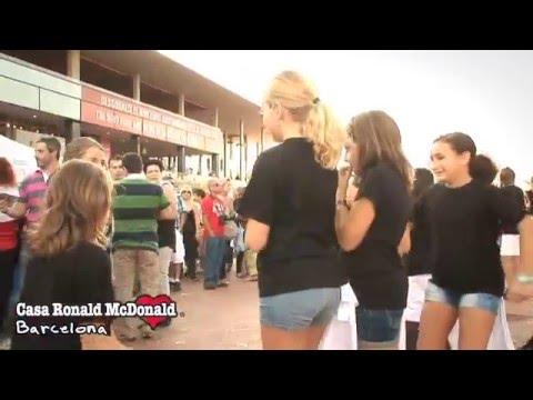 Flashmob Casa Ronald McDonald de Barcelona