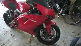 7. 2008 Ducati 1098 Termignoni exhaust
