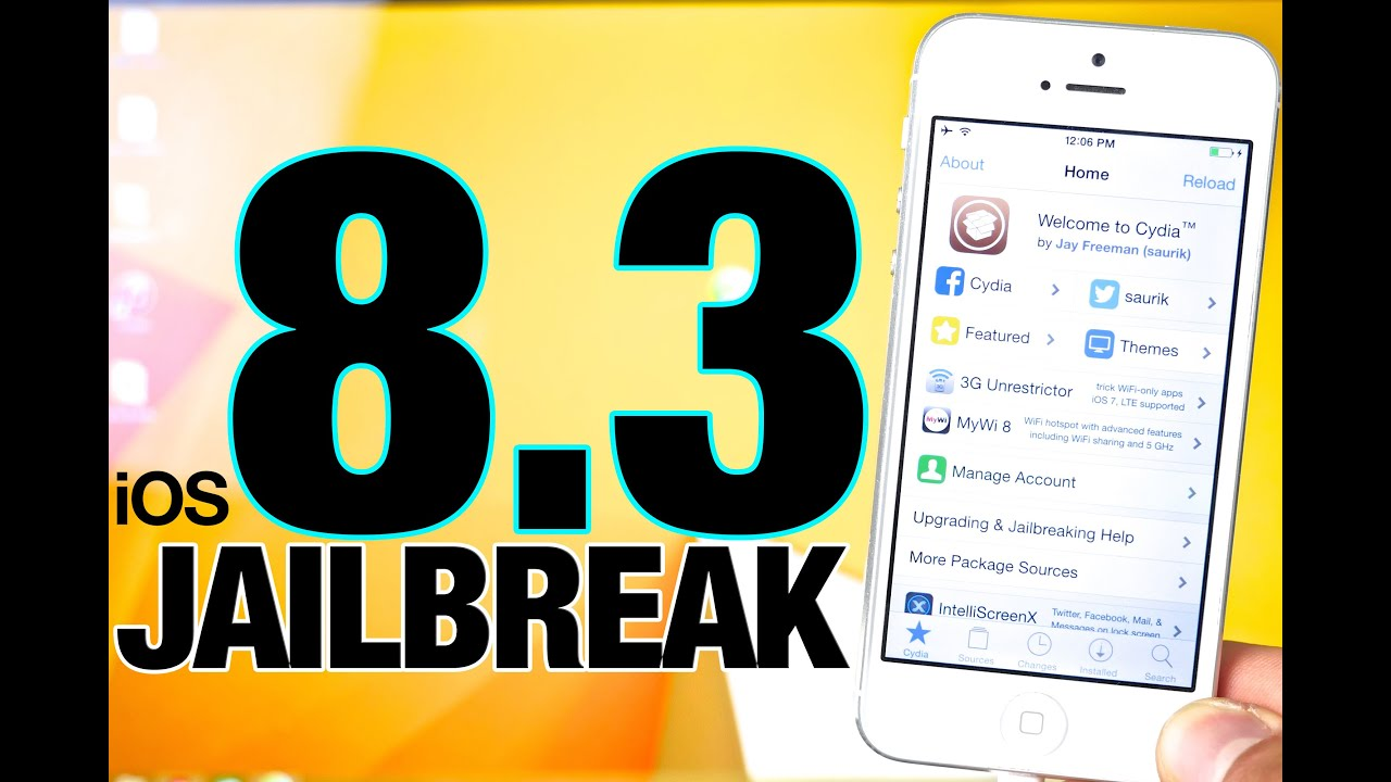 How To Jailbreak iOS 8.3 Untethered – Taig 2.0.0 for iPhone, iPad & iPod