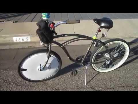 Omni Wheel Test Ride---Beach Cruiser