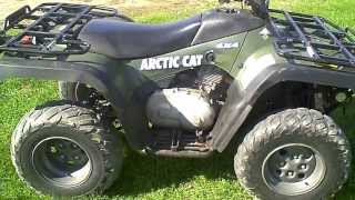3. SOLD 2004 Arctic Cat 400 ATV 4X4 MRP ACT 1200 Miles