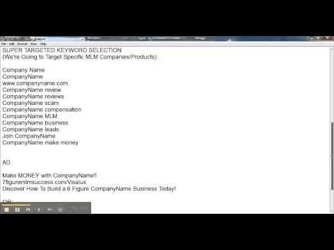 Bing PPC Targeted Keyword Selection