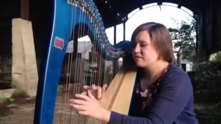 Clocks by Coldplay - Arr. Angharad Edwards, Harpist