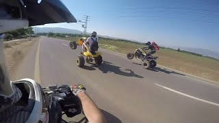 10. can am ds450 wheelie
