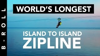 Sablayan Philippines  city photos gallery : Island to Island Zipline • B-Roll 40 • Sablayan, Mindoro, Philippines