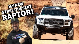 Video Ken Block Tests his NEW Fully Built Ford Raptor in Moab! MP3, 3GP, MP4, WEBM, AVI, FLV Juli 2019