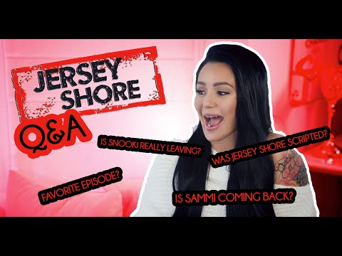 JWOWW ANSWERS YOUR JERSEY SHORE QUESTIONS
