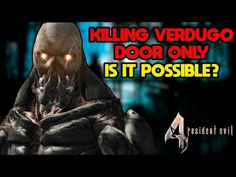 Can You Kill the Verdugo in Resident Evil 4 With Only a Door?