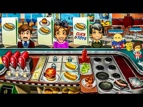 Gameplay Cooking Fever   Amazing Click&Toys Ios Game App