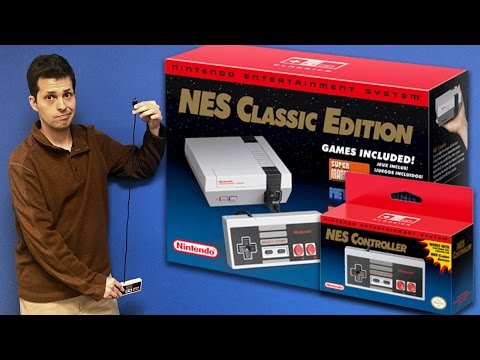 NES Classic Edition (aka NES Mini) Review - Talk About Games