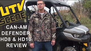 6. Introducing the 2016 Can-Am Defender HD8 and HD10
