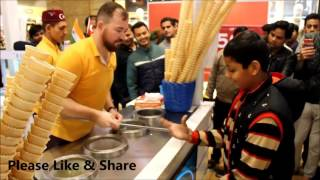 Turkish ice cream in India The most interesting show entertainment excitement comedy v13