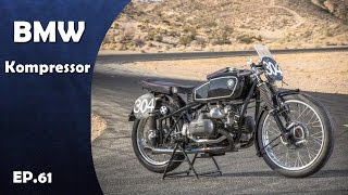 """More:https://goo.gl/uRwGgJ"""" Click below to Subscribe for more video """" :https://goo.gl/aNL7McAudio:https://www.youtube.com/audiolibrary/musicBMW Kompressor Motorcycle Produced in 1926-1939. BMW hadn't perfected its handling yet. Norton had the best-handling race bikes of the time. So BMW decided to beat Norton on sheer power alone by using superchargers. This pushed BMW race bikes up to nearly 140mph on straights--a real feat for the time period. Supercharged race bikes, in 1926, won the 1939 Isle of Man TT.  AND BMW Kompressor is Supercharged race bikes."""