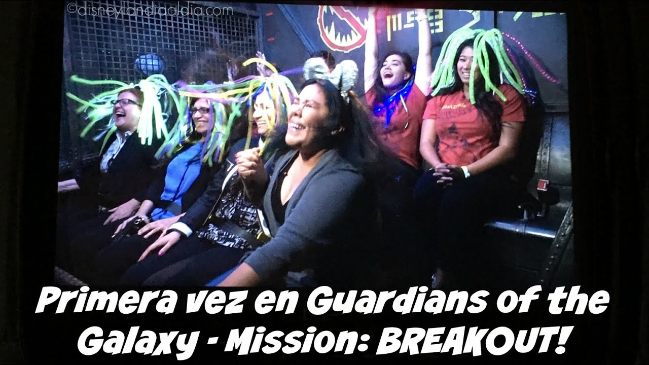 La Primera Vez en Guardians of the Galaxy – Mission: BREAKOUT!