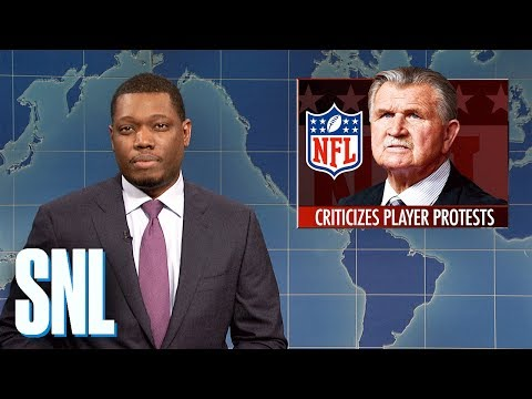 Weekend Update on Mike Ditka - SNL (видео)