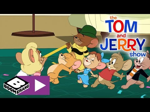 The Tom and Jerry Show | Jerry's Party | Boomerang UK 🇬🇧