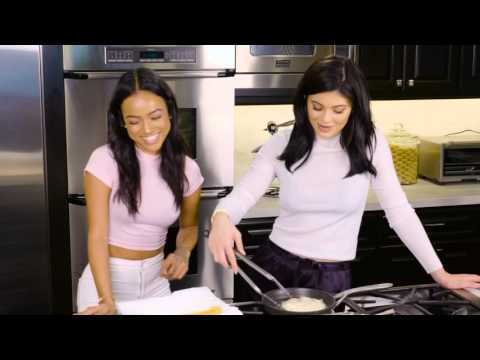 Cooking With Karrueche Tran And Kylie Jenner