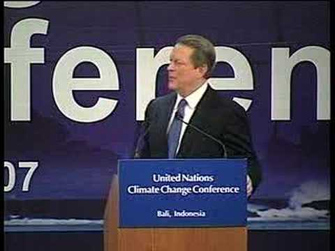 al gores speeches From the pope to primary school teachers, many have been misled by those who have jumped on the al gore bandwagon resulting in the proliferation of fake weather news around our country and world mr bastardi is an expert in the field of meteorology, and most important, a servant of the truth.