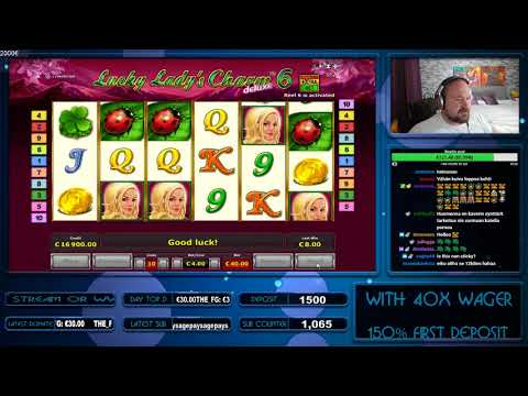 Big Bet! Double Bonus! Super Big Wins From Lucky Lady's Charm 6