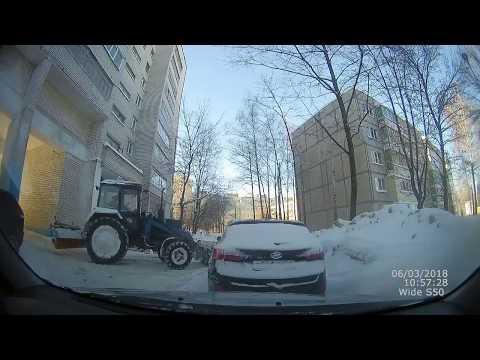 ДТП с пьяным трактористом в Чебоксарах
